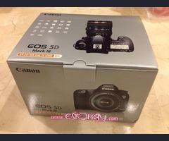 Canon EOS 5D marca III + canon EF 24-105 mm f / 4 L IS USM