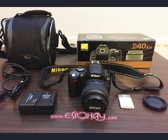 Kit de cámara digital Nikon D40