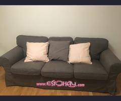 Se vende sofa semi nuevo 3 plazas