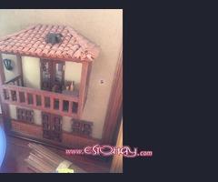 Se vende para realizar cuadros con balcones canarios en miniatura