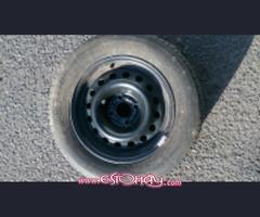 Vendo 5 ruedas 195/65/15 completas 4x100 Michelin