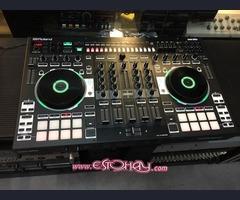 Roland DJ-808 4-Channel DJ Controller Mixer