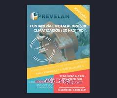 FONTANERÍA E INSTALACIONES DE CLIMATIZACIÓN 20 HRS (TPC)