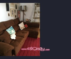 Sofá con chaise Longe