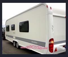 Caravan Hobby Prestige 650 WFU Año: 2010