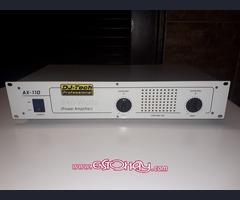 Mesa de Mezcla y Amplificador