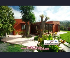 ID-227 Casa de campo de estilo Canario con piscina, en un entorno Maravilloso.