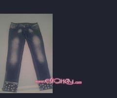 Jeans nuevo a estirar chica