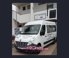 Se vende furgoneta Renault Master con separación en la carga