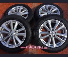 4 Llantas con cubiertas Nissan Qashqai
