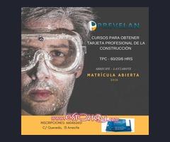 FORMACIÓN ALBAÑILERÍA - TARJETA PROFESIONAL DE LA CONSTRUCCIÓN  TPC