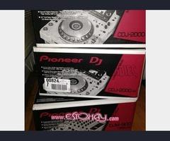Pioneer CDJ-2000NXS2-W y DJM-900NXS2-W - Blanco de edición limitada es 2350 Euro