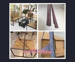 Fabricación de muebles, etc