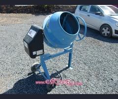 HORMIGONERA mezcladora MIX-135 se usa como nuevo solo una vez