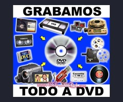 TUS CINTAS DE VIDEO A DVD