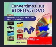 CONVERTIR TUS CINTAS CASSETTES DE VIDEO A DVD