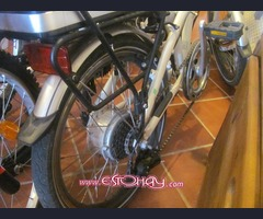 E-bike casi sin utilizar