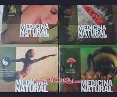 Colección de libro de Medicina Natural, mente y cuerpo