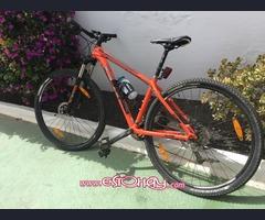 Bicicleta de montaña marca Trek
