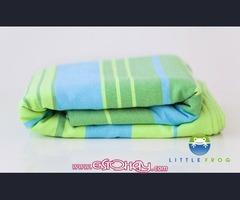 Fular portabebé Little Frog Bambú Labradorite colores Arrecife