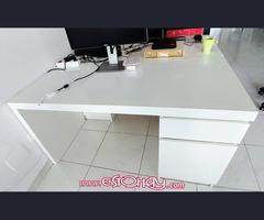 mesa IKEA MALM blancas
