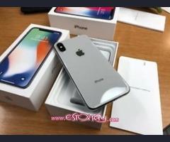 Apple iphone x 256gb / samsung galaxy s9 plus