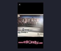 tv samsung -UHD 48 curvo