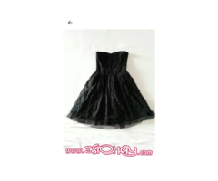 Vestido encaje negro