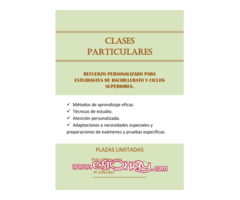 Clases particulares personalizadas