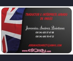 Sworn Translator English and Spanish