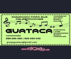 GRUPO MUSICAL GUATACA PARA SUS FIESTAS