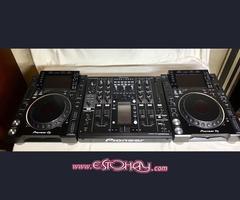 venta 2x pionero CDJ-2000nxs2 más DJM-2000nxs2 mezclador de Paquete
