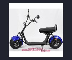 2000 Watts Harley Style Fat Tire Electric Scooters.