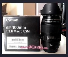 Canon EF 100mm f/2. 8L Macro USM Objetivo