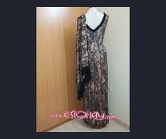 Se vende vestido con chal