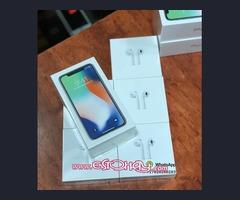 Apple iPhone X 64GB 256GB Free Apple Airpod