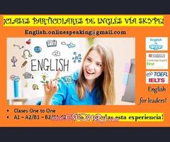 INGLÉS TEACHER ONLINE A1/A2 B1/PET B2FCE