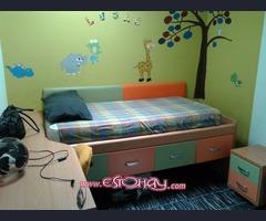 Dormitorio niños dos camas