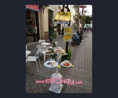 Kiosco bar cafetería calle real Arrecife