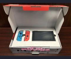 Novo console Nintendo Switch & Joycons console (SISTEMA COMPLETO)