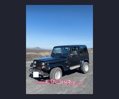 JEEP Wrangler YJ 2.5 - Hard Top - 1995