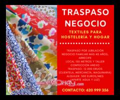 TRASPASO NEGOCIO TEXTIL EN ARRECIFE