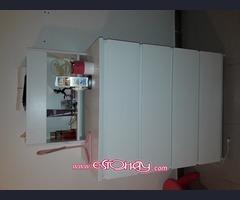 CAJONERA IKEA BLANCA SEMINUEVA Y REPISA