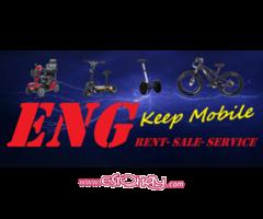 Tiende de venta escursiones y alquiler de veiculos electricos