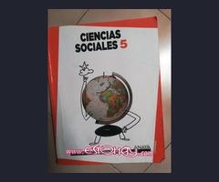 Vendo Libro Ciencias Sociales 5° Primaria ANAYA