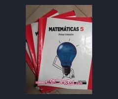 Vendo libros Matemáticas 5° Primaria ANAYA