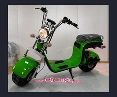 YQ 500w / 48v Two Seater Mini City Coco Electric Motorcycle Ebike Scooter NUEVO