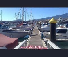 SE ALQUILA AMARRE (8X3mts) en Club Deportivo la Galera, Santa Cruz de Tenerife
