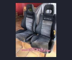 Se venden sillones de Honda CRX.