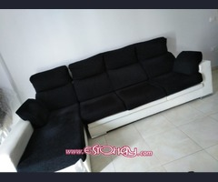 SOFA CHAISE LONGUE DE 3 PLAZAS